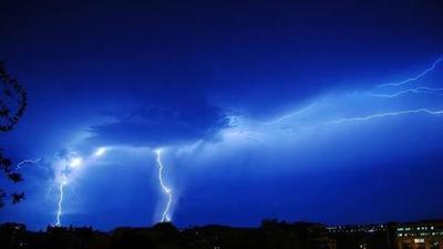 Quince departamentos de nuestro país serán afectados por un sistema de tormentas