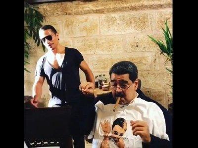 Maduro almuerza en lujoso restaurante y desata la indignación
