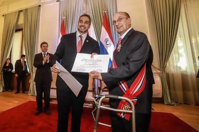 Rafael Rojas Doria recibió la Orden Nacional del Mérito