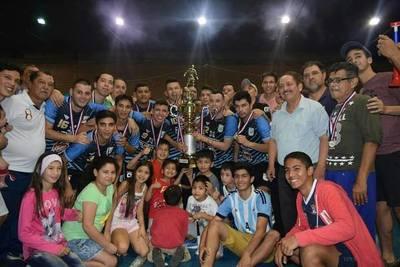La Copa de Oro se queda en barrio Obrero
