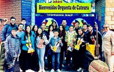 """Orquesta de """"Reciclados""""  en gira de 34.000 kilómetros"""