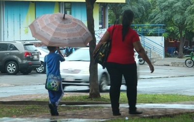 Meteorología emite alerta de lluvias para cinco departamentos