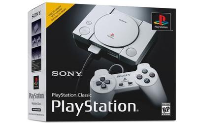 Sony relanza la primera PlayStation con 20 juegos clásicos