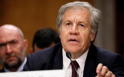Secretario de la OEA tildó de imbéciles a miembros del Frente Amplio de Uruguay
