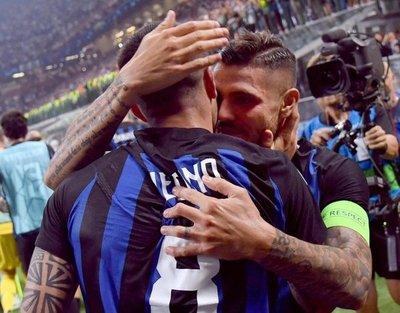 El debut soñado por Icardi y Vecino
