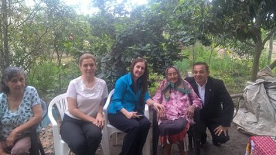 Por primera vez, abuelita de 108 años cuenta con cédula