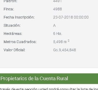 Terreno de la futura terminal pertenece a concejal Ruben Martínez según registro público