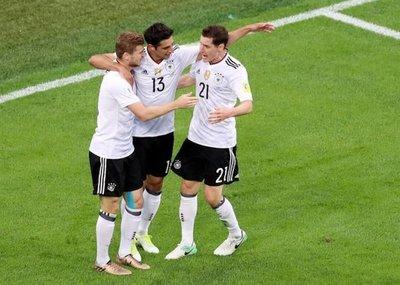 Alemania castiga a Chile y gana la Copa Confederaciones