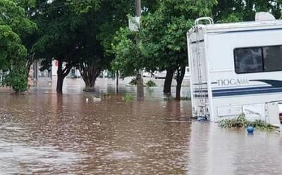 Intensas lluvias en México deja muertos y desaparecidos