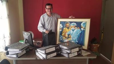 Dr. Pedro Pérez fue designado como nuevo Director de Hospitales Área Interior del I.PS.