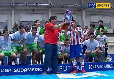 Paraguay campeón de la Liga Sudamericana de Futsal FIFA