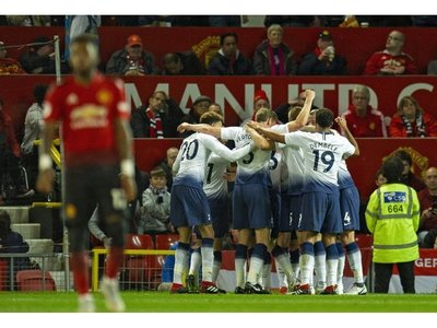 El Tottenham brilla en Old Trafford y golea al United