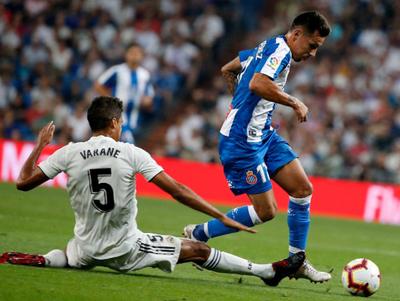 Real Madrid venció al Espanyol de Hernán Pérez