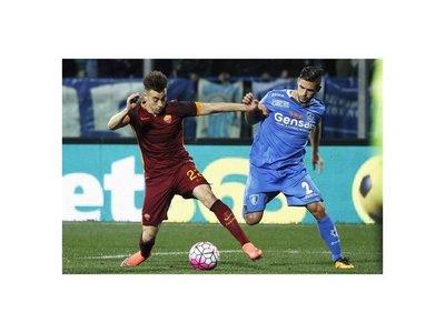 La Roma vence en Empoli y se ubica a cinco de la Juve