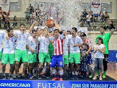 FutsalFIFA: Paraguay, campeón de la Zona Sur