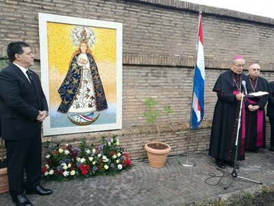 La Virgen de Caacupé, en el Vaticano