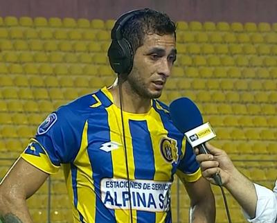 Cristian Maidana y la felicidad del gol y la victoria