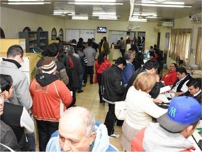 CDE: Juzgado emplaza a Comuna a pagar  deuda a Caja de Jubilaciones