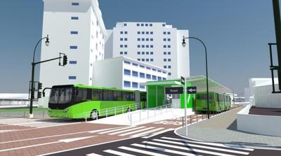 Metrobús prosigue con varios trabajos