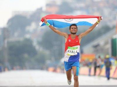 Derlys Ayala logra plata en el Sudamericano
