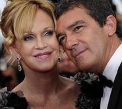 Melanie Griffith y Antonio Banderas se reencuentran