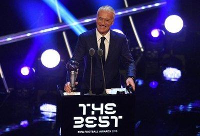 Didier Deschamps, mejor entrenador del año
