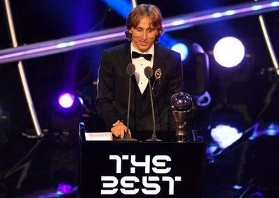 Modric, el The Best 2018
