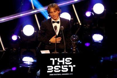 Luka Modric se queda con el premio The Best