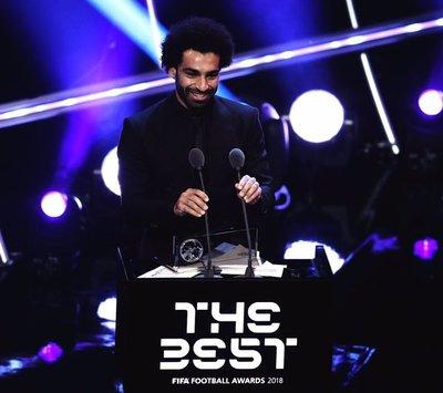 Mohamed Salah se quedó con el premio Puskas