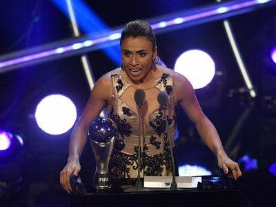 Marta, condecorada con el 'The Best' a mejor jugadora