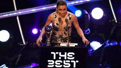 Marta fue elegida como la mejor del 2018