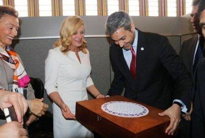Reuniones con mandatarios y empresarios en las NN.UU.