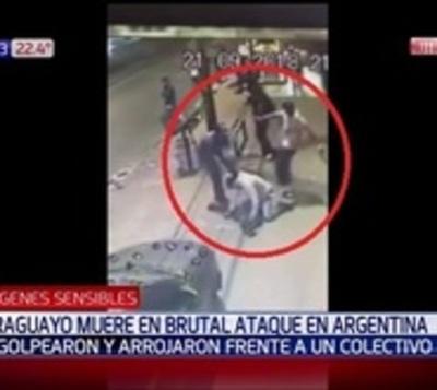 Turba atacó y asesinó a paraguayo en Argentina