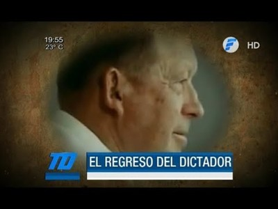 ¿El regreso del dictador Alfredo Stroessner?
