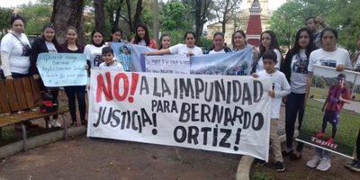 Familiares piden justicia para Bernardo Ortíz