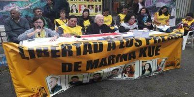 El Congreso Democrático del Pueblo organiza marcha por los 6 años de la masacre de Curuguaty
