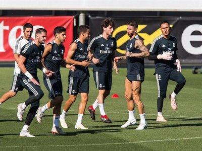 El Real Madrid viaja a Moscú sin Ramos, Bale, Marcelo ni Isco