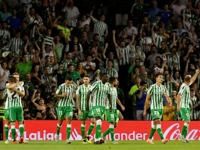 Betis, con Tonny, vence sobre el final al Leganés