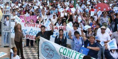 Une-sn emitió comunicado y no descarta manifestación masiva