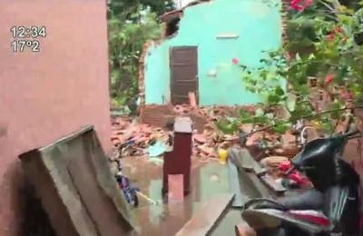 Temporal dejó severos daños en Luque