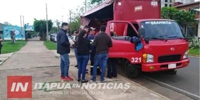 ASALTAN A REPARTIDOR DE BEBIDAS EN PLENO CENTRO DE ENCARNACIÓN.