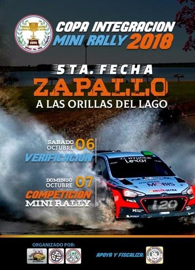 Este fin de semana se corre el Mini Rally