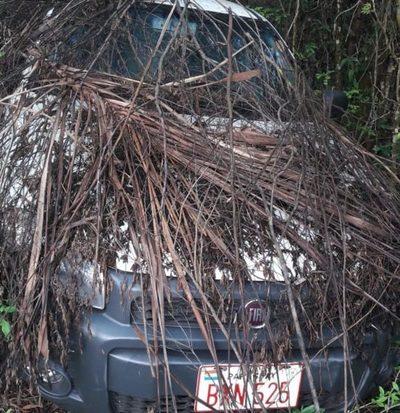 En yuyal, recuperan vehículo robado
