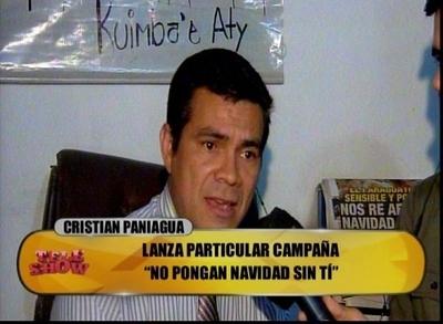 """Paniagua asegura que gracias a su campaña se escucha menos """"Navidad Sin Ti"""""""