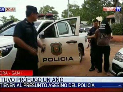 Detienen a implicado en muerte de policía en San Pedro