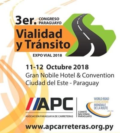 Organizan tercer congreso de viabilidad y tránsito en Ciudad del Este