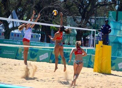 Voleibolistas paraguayas no pueden ante Puerto Rico