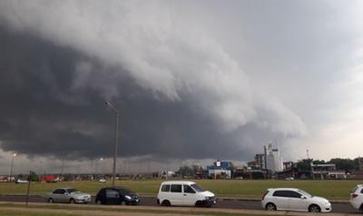 Emiten alerta de tormentas en nueve departamentos