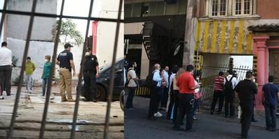 HALLAN CADAVERES EN UN EDIFICIO EN PLENO MICROCENTRO DE ASUNCIÓN