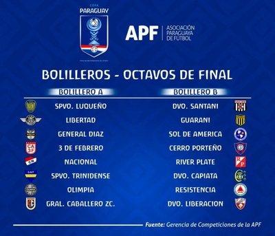 Sorteo de la Copa Paraguay, mañana